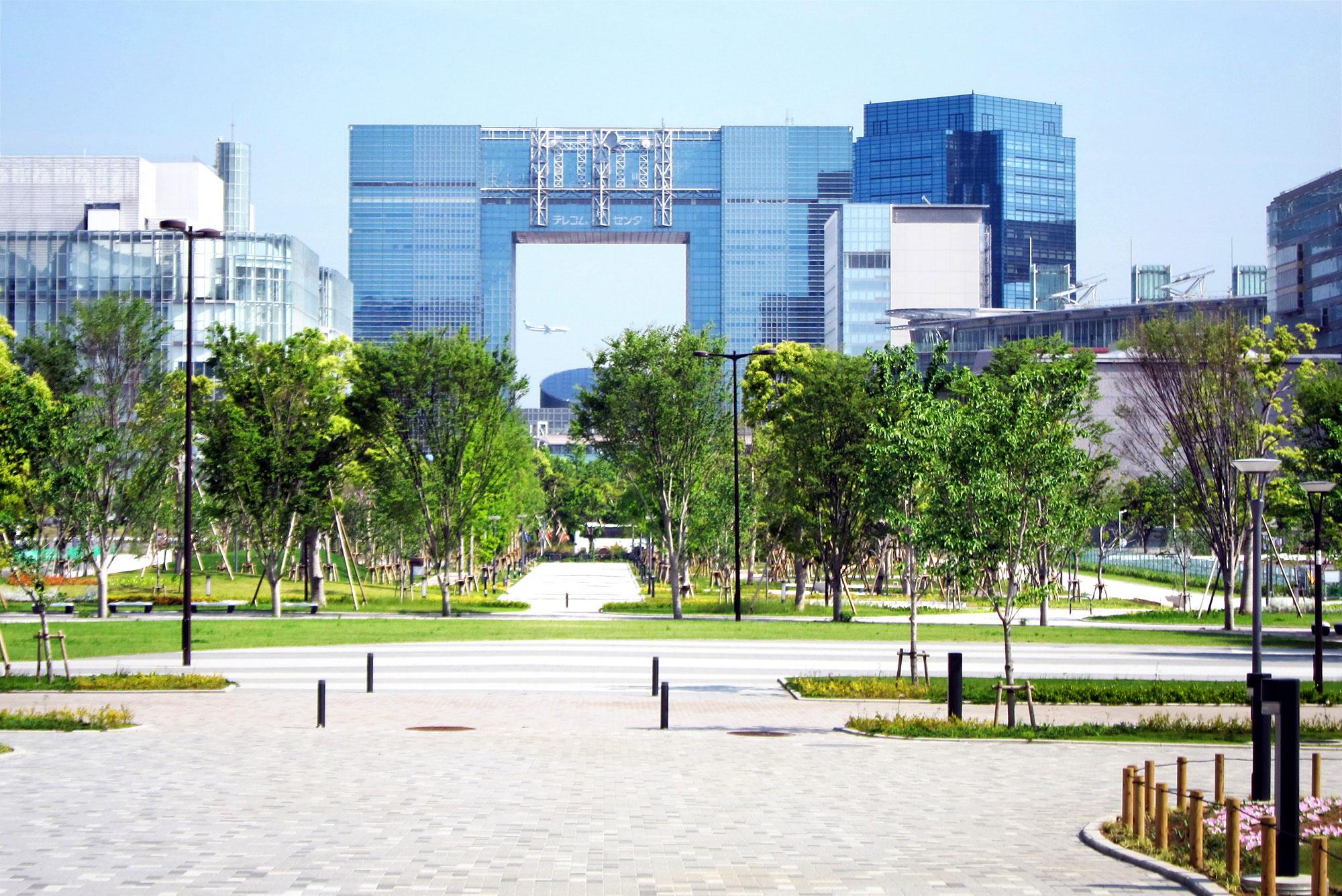 テレコムセンタービル 外観